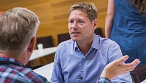 Sveinung Skule, direktør i NIFU, er kritisk. Foto: Siri Øverland Eriksen