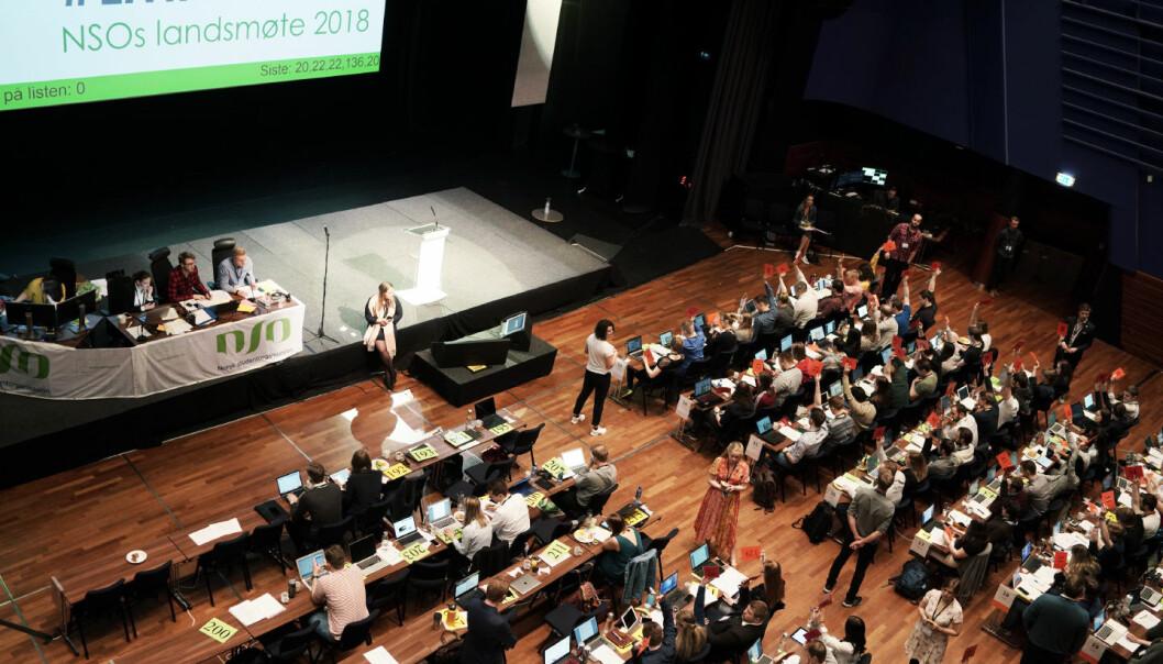 På landsmøtet 4.-7. april velges seks studenter som ny ledelse av Norsk studentorganisasjon. Foto: Ketil Blom Haugstulen