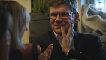 Svein Stølen, rektor ved Universitetet i Oslo, får lovnader i den nye regjerignsplattformen om at det skal startes bygging av en nytt Vikingtidsmuseum. Foto: SIri Ø. Eriksen