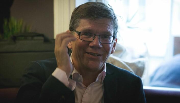 Rektor Svein Stølen har ikke fått noen lovnad fra norske myndigheter om penger til den europeiske utdanningssatsingen han planlegger. Foto: Siri Øverland Eriksen