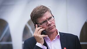 Svein Stølen, rektor ved UiO. Foto: Siri Øverland Eriksen