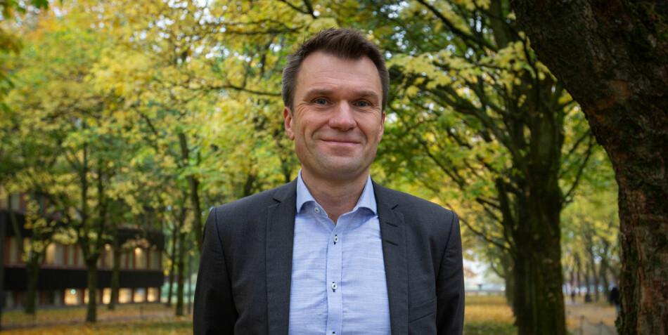 — OsloMet framstår som veldig et dynamisk og ambisiøst universitet, sier Torkel Brekke, som begynner i ny stilling 1. september. Foto: Runhild Heggem