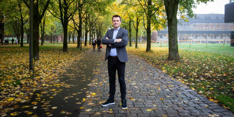 Professor på Universitetet i Oslo, Torkel Brekke. Foto: Runhild Heggem