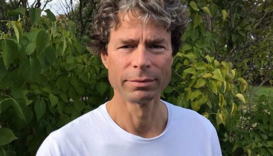 Frode Helland er professor i nordisk litteraturvitenskap, og nå nyvalgt dekan ved Det humanistiske fakultet ved Universitetet i Oslo. Foto: Privat