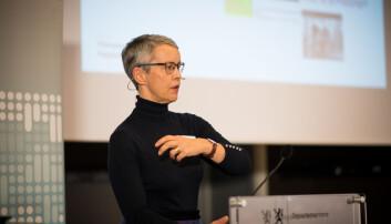 Rektor Ingunn Moser ved VID. Foto: Skjalg Bøhmer Vold