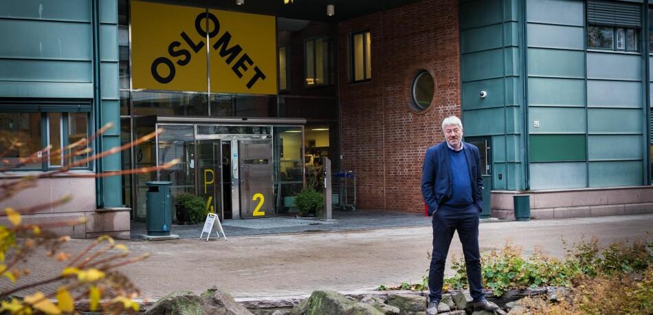Tore Hansen, organisasjons- og virksomhetsdirektør, OsloMet. Foto: Siri Øverland Eriksen