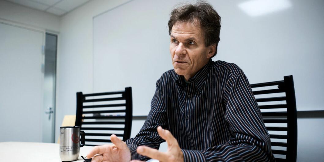 Einar Bråthen ved NIBR har sammen med Sigrid Stokstad evaluert universitetsdemokratiet ved OsloMet. Det har skapt reaksjoner. Foto: Ketil Blom Haugstulen