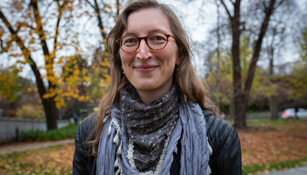 Lena Gross er doktorgradskandidat ved Sosialantropologisk institutt ved Universitetet i Oslo. Foto: Runhild Heggem