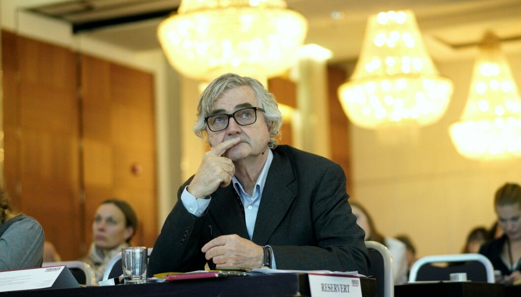 Petter Aaslestad, avtroppende leder av Forskerforbundet. Foto: Ketil Blom Haugstulen