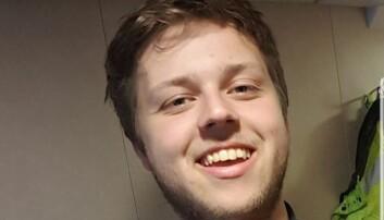 Andreas Aldeholm, studentrepresentant i styret i Norsk Sjøoffisersforbund. Foto: Privat