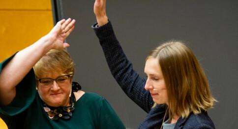 «High five» for norsk som fagspråk