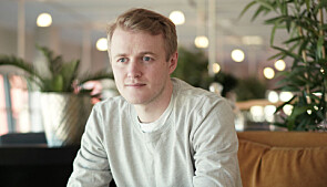 Håkon Randgaard Mikalsen, NSO-leder. Foto: Ketil Blom Haugstulen