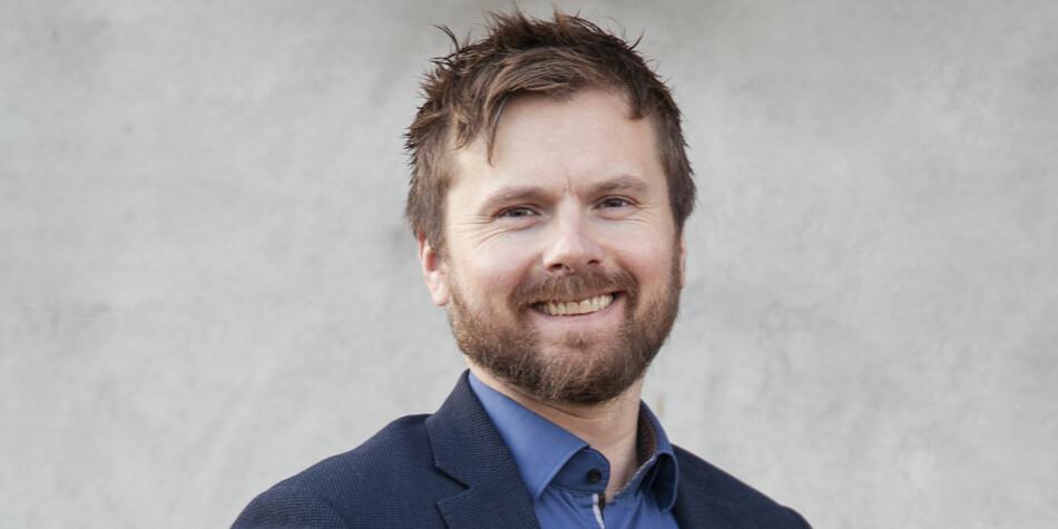 Andreas Førde har fått jobben som kommunikasjonssjef ved Nord universitet. Foto: Nord