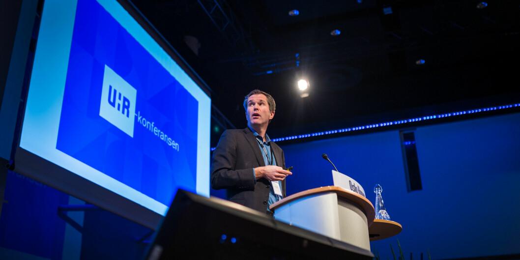 Vil understøtte mer og bedre tverrfaglighet: John-Arne Røttingen, direktør i Forskningsrådet. Foto: Siri Øverland Eriksen