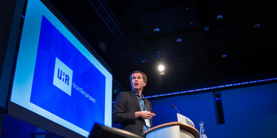 John-Arne Røttingen, administrerende direktør i Forskningsrådet, er skeptisk til åpne styremøter i Forskningsrådet. Foto: Siri Øverland Eriksen