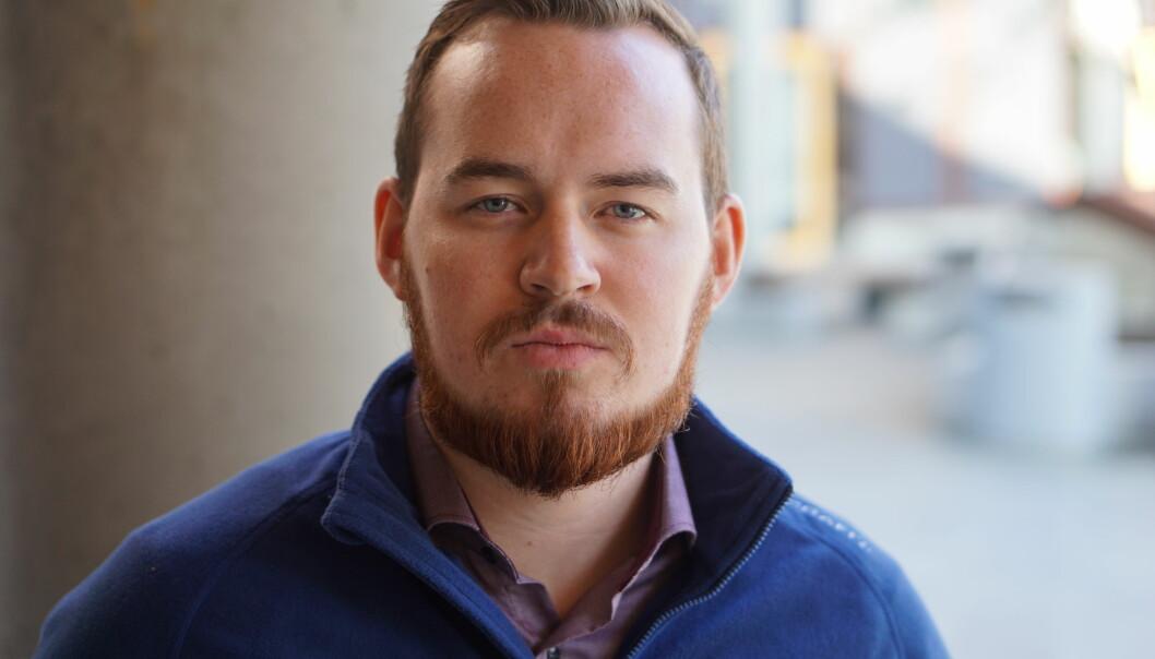Studentleder ved UiT Norges arktiske universitet, Daniel Hansen Masvik, har sagt nei takk til å delta i demonstrasjonen mot stipendomlegging. Foto: Privat