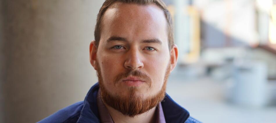 Daniel Hansen Masvik, leder ved studentparlamentet ved UiT Norges arktiske universitet. Foto: Privat