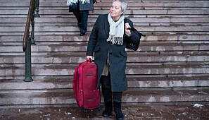 Rektor Kathrine Skretting ved Høgskolen i Innlandet har et av de mest nøkterne reisebudsjettene i år. FOto: Skjalg Bøhmer Vold