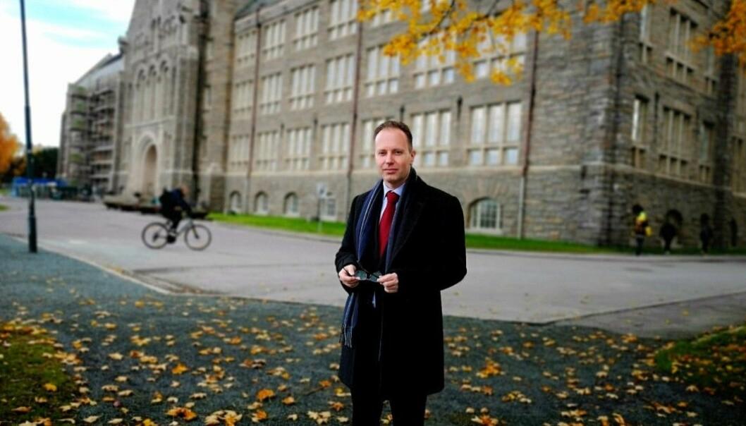 Øyvind Eikrem varslet om håndteringen av et intervjuet han gjorde med nettstedet Resett og reaksjonene det skapte. Foto: Privat