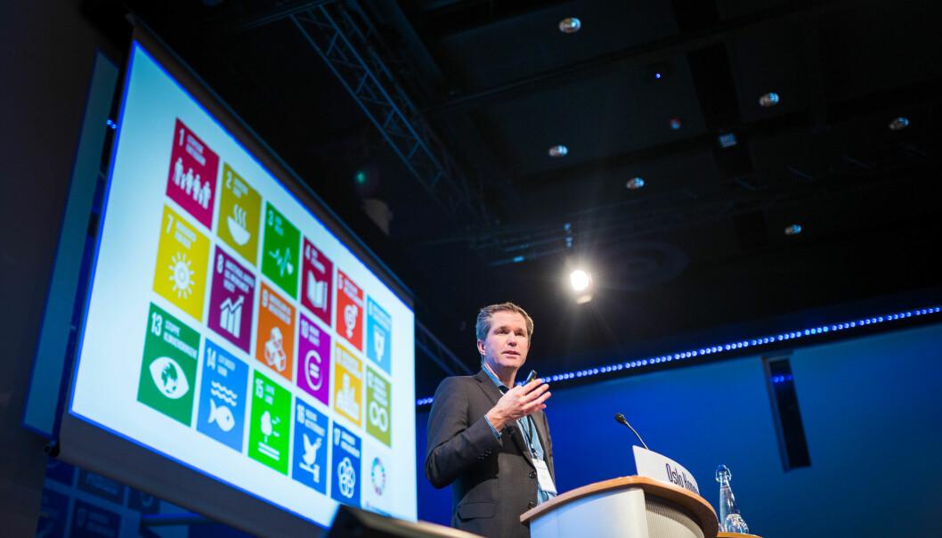 John-Arne Røttingen, administrerende direktør i Forskningsrådet. Foto: Siri Øverland Eriksen