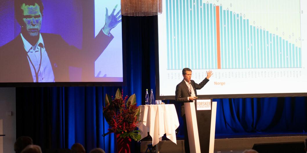 Forskningsrådets direktør, John-Arne Røttingen. Foto: Ketil Blom Haugstulen
