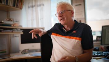 Hovedtillitsvalgt i Forskerforbundet ved UiA, John Olav Bjørnestad. Foto: Skjalg Bøhmer Vold