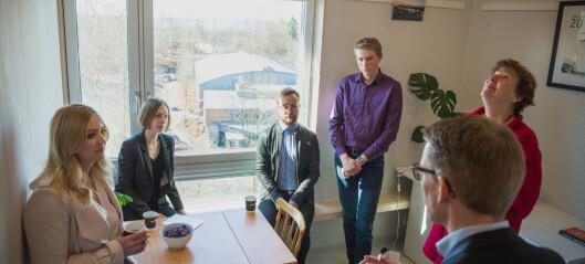 Nybø fant ekstra ubrukte penger til studentboliger: Det blir 3400 nye i 2019