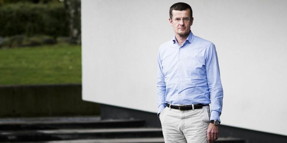 Klaus Mohn, professor i petroleumsøkonomi, er enstemmig innstilt overfor universitetsstyret ved UiS, som skal ansatte ny rektor torsdag 6. desember: Foto: Stavanger Aftenblad / Scanpix