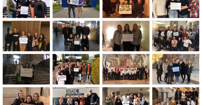 Studentprotester fra hele verden