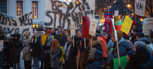 Ber regjeringa utsette og utrede stipendomlegging
