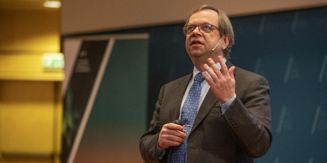 Prorektor for forskning ved UiT Norges arktiske universitet, Kenneth Ruud, oppfordrer forskere til å ta gjennomtenkt valg på hvilken lisens man bruker når man publiserer åpent. Foto: David Jensen/UiT