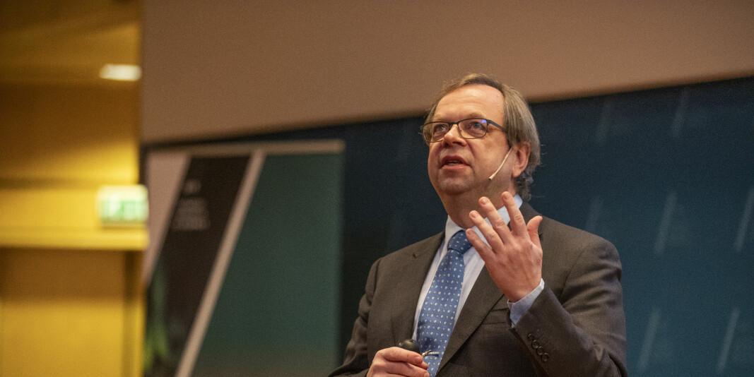 Prorektor Kenneth Ruud ved UiT regner med at han vil søke rektorjobben som blir ledig etter Anne Husebekk 1. august neste år.
