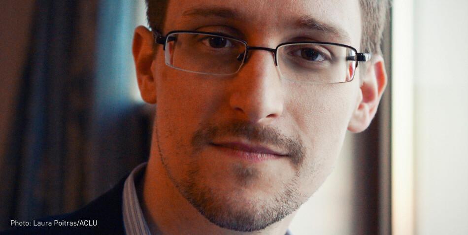 Edward Snowden skal bidra på NTNUs nye store vitenskapsfestival: Big challange. Foto: Laura Poitras/ACLU