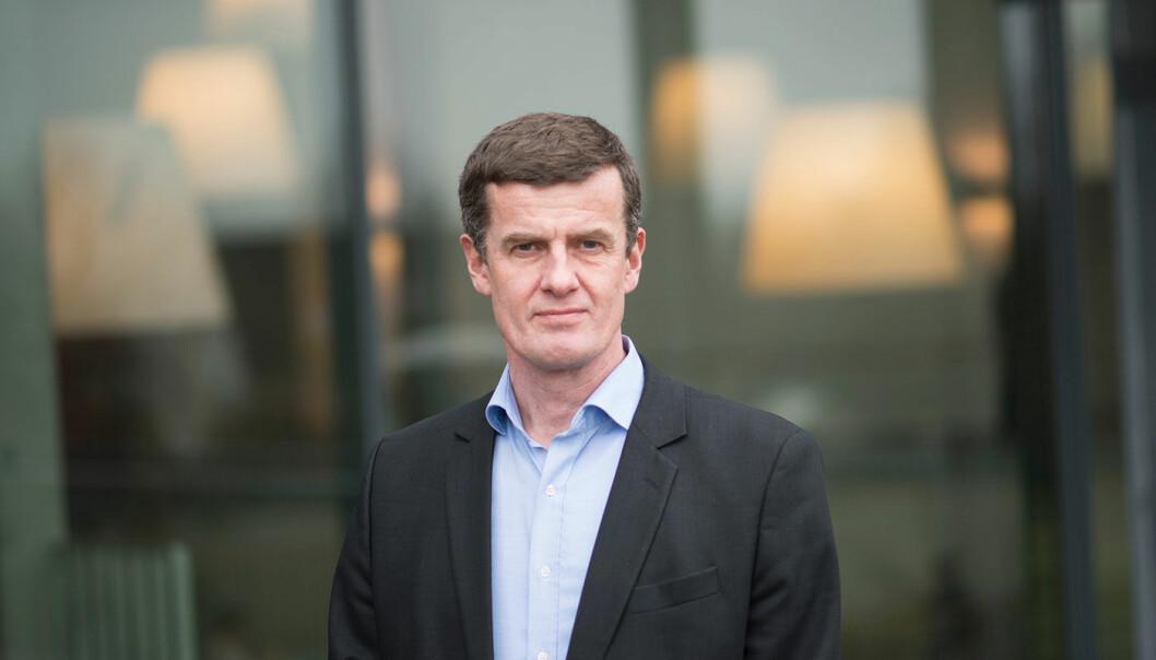 Klaus Mohn er den første ansatte rektoren på Universitetet i Stavanger. Han tiltrer 1. august 2019. Foto: UiS