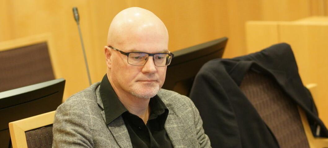 Tidligere ukjent: Langeland sendte grove meldinger til sin kvinnelige sjef