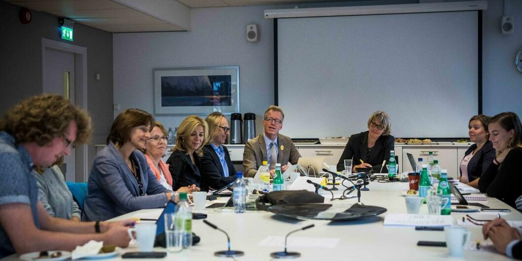 Styret ved OsloMet har et langt sakskart for årets siste styremøte, fredag 14. desember. Foto: Siri Øverland Eriksen
