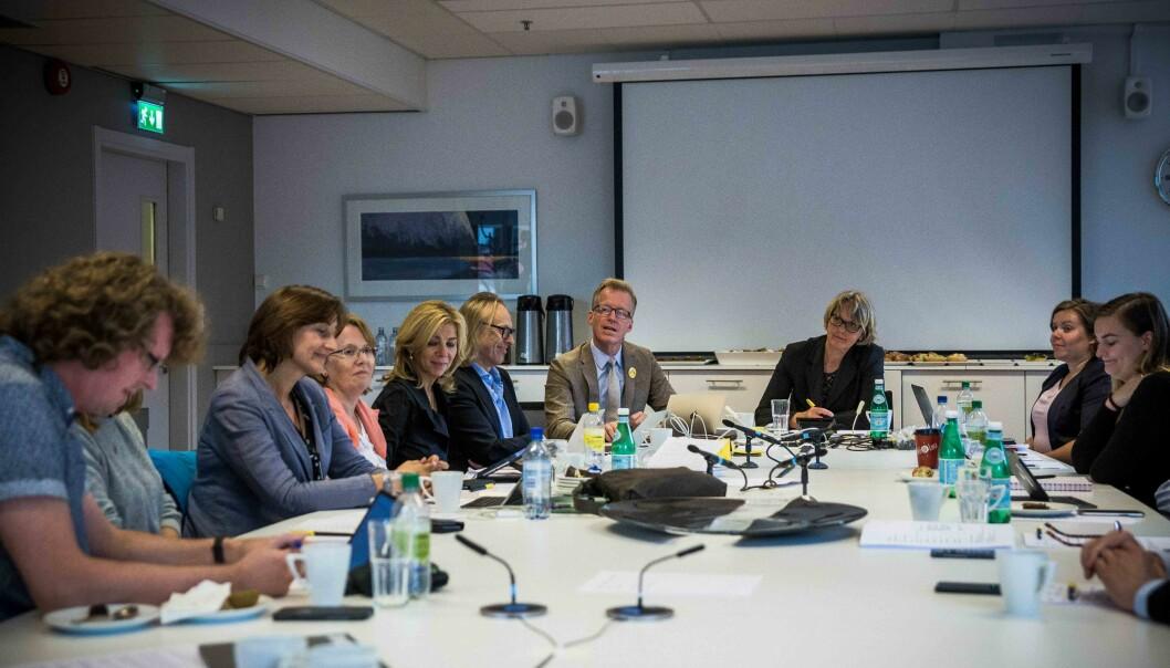 OsloMet er en av de 10 un iversitetene og høgskolene som skal na nytt styre. Foto: Siri Øverland Eriksen