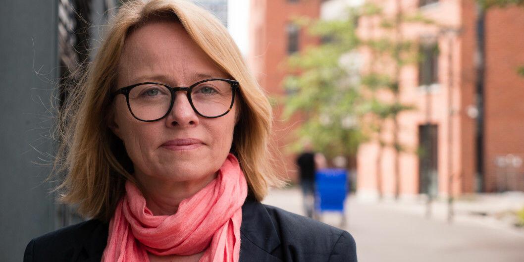 Kristin Sverdrup går tilbake til Utenriksdepartementet og slutter i jobben som forskningsdirektør ved OsloMet etter to og et halvt år. Foto: Petter Berntsen