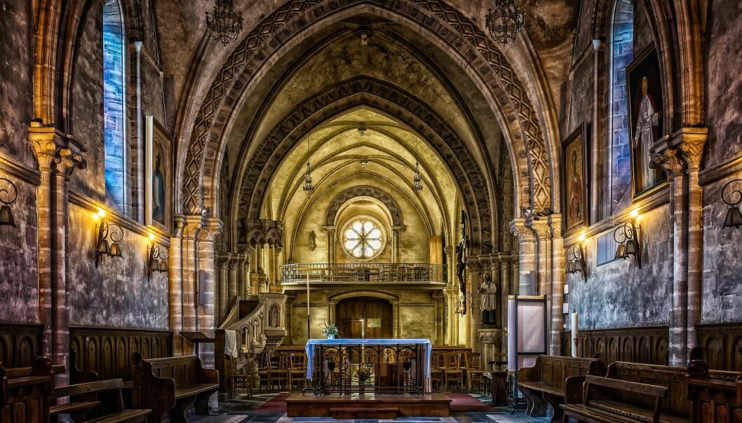 Mange av de som snakker latin, er tilknyttet kirken. Foto: Pixabay