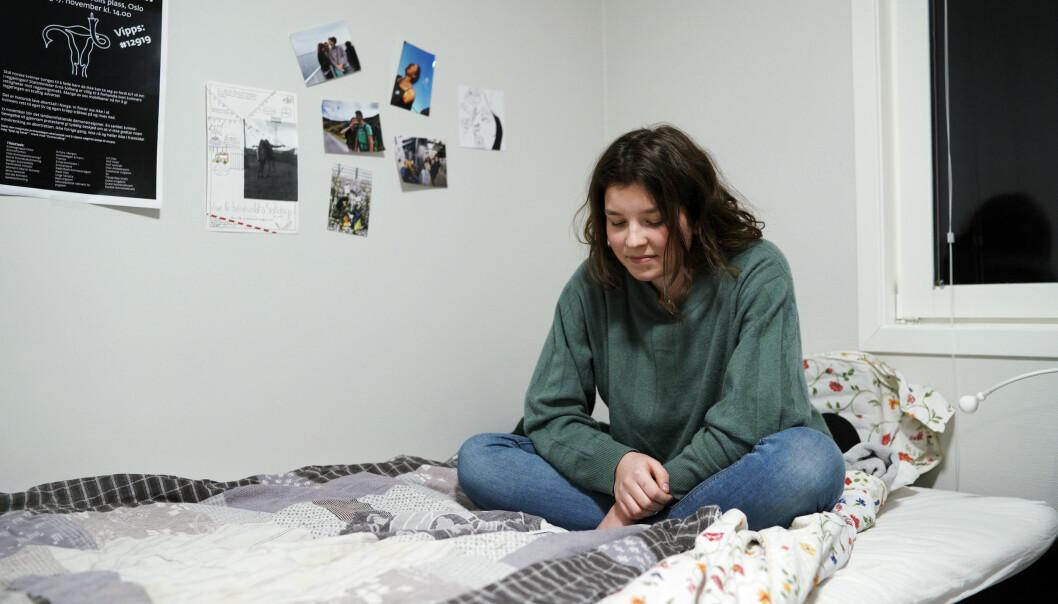 Mercier følte studentene får mer respekt i Norge enn hjemme i Frankrike. Der er stort sett liten status forbundet med studentlivet, men mindre man studerer på privatskole, forklarer hun.