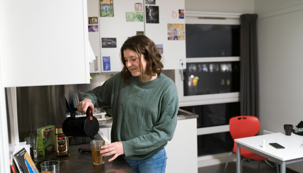 Khrono met Juliette Mercier's final week in her student lodging in December— a double bedsit on the outskirts of Oslo that she shares with a friend