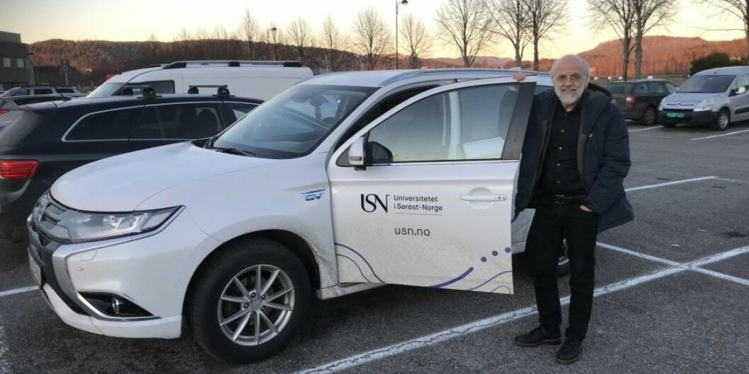 Rektor Petter Aasen ved det nyeste universitetet i Norge har fått 100.000 kroner i lønnstillegg. Foto: Eva Tønnessen