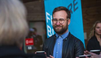 Vetle Bo Saga er styreleder for Samskipnaden i Oslo og Akershus (SiO) for andre på rad. Foto: Siri Øverland Eriksen