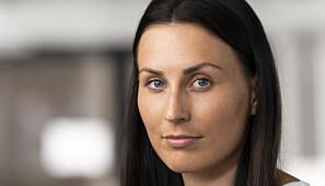 Marte Øien, nestleder i Norsk studentorganisasjon. Foto: NSO / Skjalg Bøhmer Vold