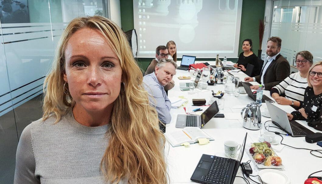 Marianne Klausen, advokat og leiar i statens Felles klagenemnd opnar for å gå ein ekstra runde med universitet som ikkje argumenterer godt nok mot innsyn i dokument. Foto: Dag Hellesund