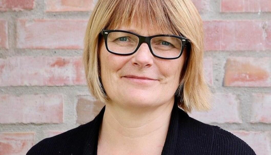 Dekan på Universitetet i Agder og nå kandidat til rektorvalget: Sunniva Whittaker. Foto: UiA