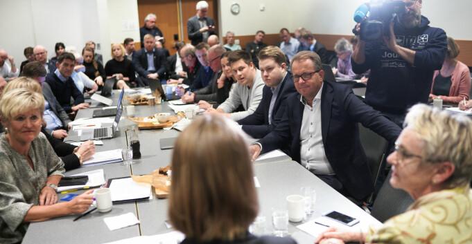 Politikk i styrerommet