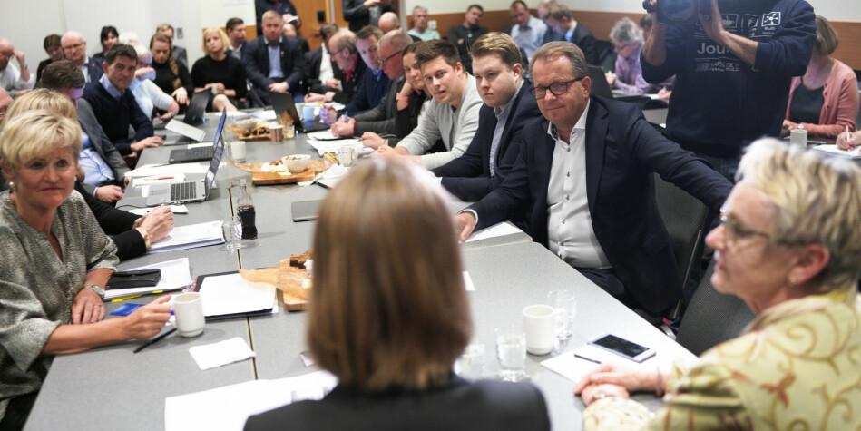 Statsråd Iselin Nybø møtte styret ved Nord universitet i januar. Nå skal styret behandle en omstridt sak om hvor mange studiesteder unviersitetet skal ha. Foto: Ketil Blom Haugstulen