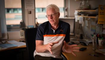 John Olav Bjørnestad, hovedtillitsvalgt, Forskerforbundet UiA. Foto: Skjalg Bøhmer Vold