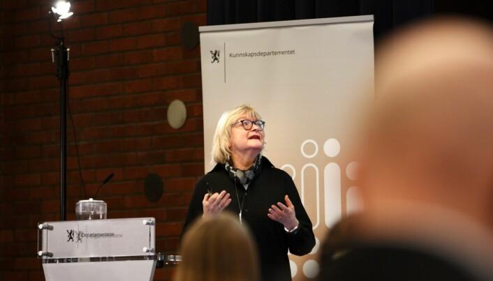 Rektor Berit Rokne ved Høgskulen på Vestlandet.